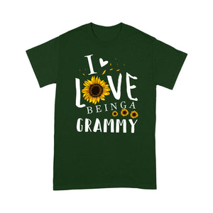 I love being a grammy T shirt  Family Tee - Standard T-shirt Tee Shirt Gift For Christmas