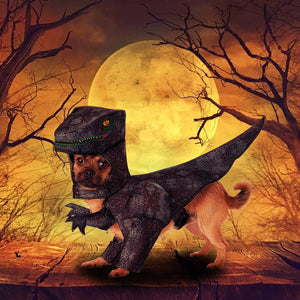 Pupasaurus Rex Costume for Pets