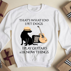 That's What I do I pet Ugly Sweater - Funny sweatshirt gifts christmas ugly sweater for men and women