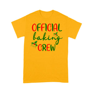 Official Baking Crew Funny Christmas Gift  Tee Shirt Gift For Christmas