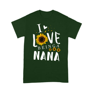 I love being a nana T shirt  Family Tee - Copy - Standard T-shirt Tee Shirt Gift For Christmas
