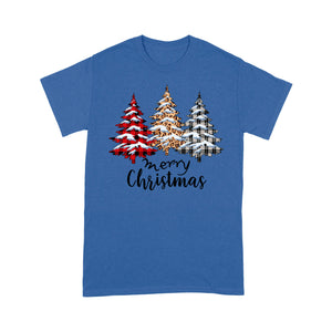 Have A Merry Christmas With Knitting And Leopard Pattern  Tee Shirt Gift For Christmas