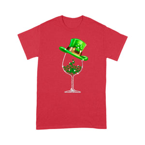Wine St. Patrick's Day - Standard T-shirt Tee Shirt Gift For Christmas