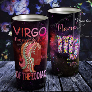 The Most Fearless of The Zodiac Personalized Tumbler- Astrology Sign Gift, Stainless Tumbler
