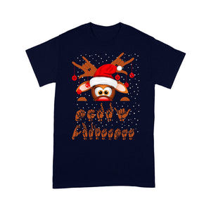 Merry Christmas ASL Sign Language Gift   Tee Shirt Gift For Christmas