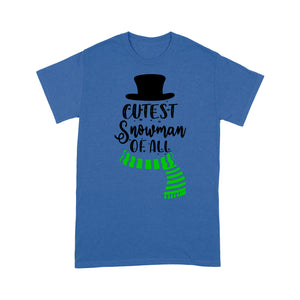 Cutest Snowman Of All Funny Christmas Tee Shirt Gift For Christmas