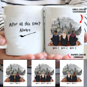 After all this time? Always couple custom christmas mugs
