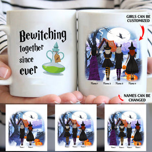 Bewitching together since ever custom christmas mugs