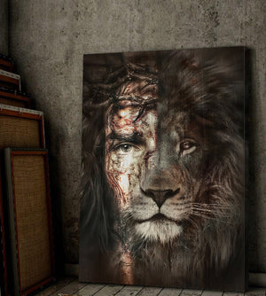 LION OF JUDAH - Christian Art - Canvas Painting