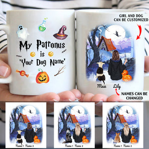 My Patronus Is My Dog Personalized Dog Girl 11oz White Mug