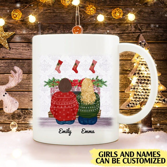 There is no greater gift than friendship personalised gift customized mug coffee mugs gifts custom christmas mugs