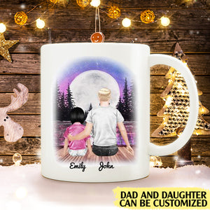 To my daughter always remember that I love you personalised gift customized mug coffee mugs gifts custom christmas mugs