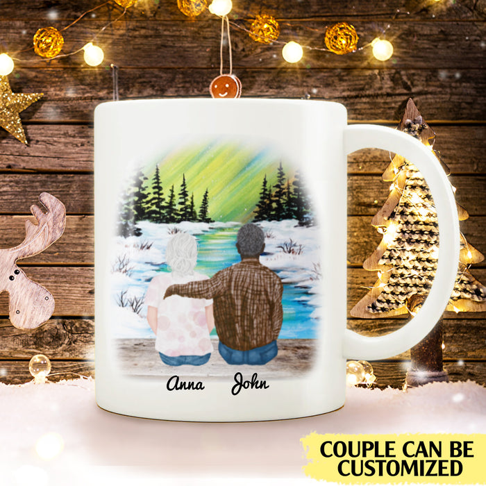 To my husband I'd find you sooner and love you longer personalised gift customized mug coffee mugs gifts custom christmas mugs