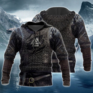 Vikings Armor Hoodie, Viking Hoodie, Viking Gift Idea For Men & Women