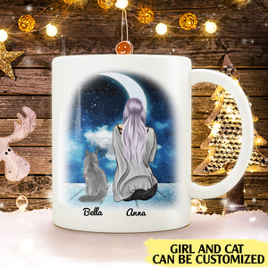 When I Needed A Hand I Found Your Paw personalised cat lover gift customized mug coffee mugs gifts custom christmas mugs