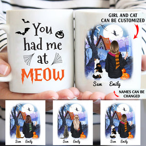 You had me at meow personalised gift customized mug coffee mugs gifts custom christmas mugs