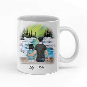 To my beautiful daughter you would be able to understand personalized dad daughter 11oz White Mug