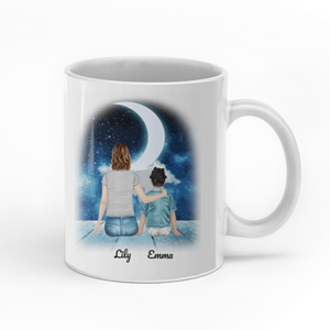 To my daughter never forget that I love you personalised gift customized mug coffee mugs gifts custom christmas mugs