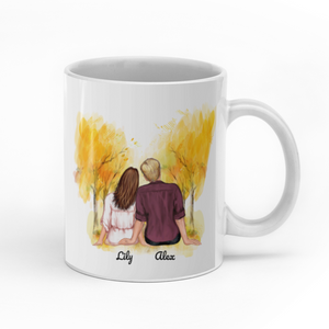 Every love story is beautiful but ours is my favourite custom christmas mugs