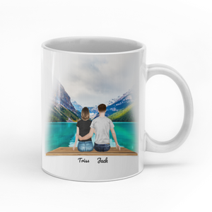 To My Wife I Love You Forever And Always Personalized Anniversary Mug Gift For Family