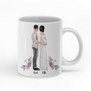 Our First Mother's Day Together Personalized Dad and Mom Mug