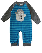 Load image into Gallery viewer, Infant Boy's Snowman Outfit