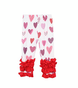 Girl's Valentine's Heart Outfit