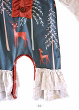 Load image into Gallery viewer, Reindeer Girl's Outfit