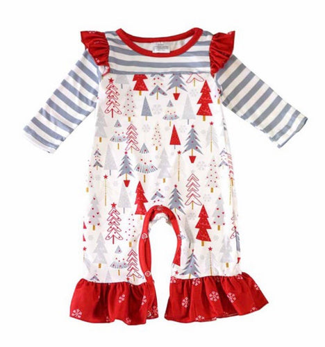 Christmas Tree Girl's Outfit