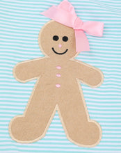 Load image into Gallery viewer, Girl's Gingerbread Girl Outfit