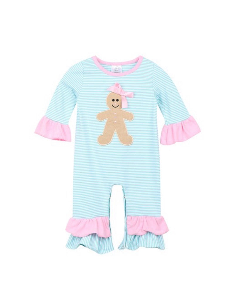 Girl's Gingerbread Girl Outfit