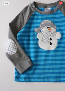 Unisex Children's Snowman Top