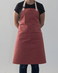 Classic Apron // Nautical Red