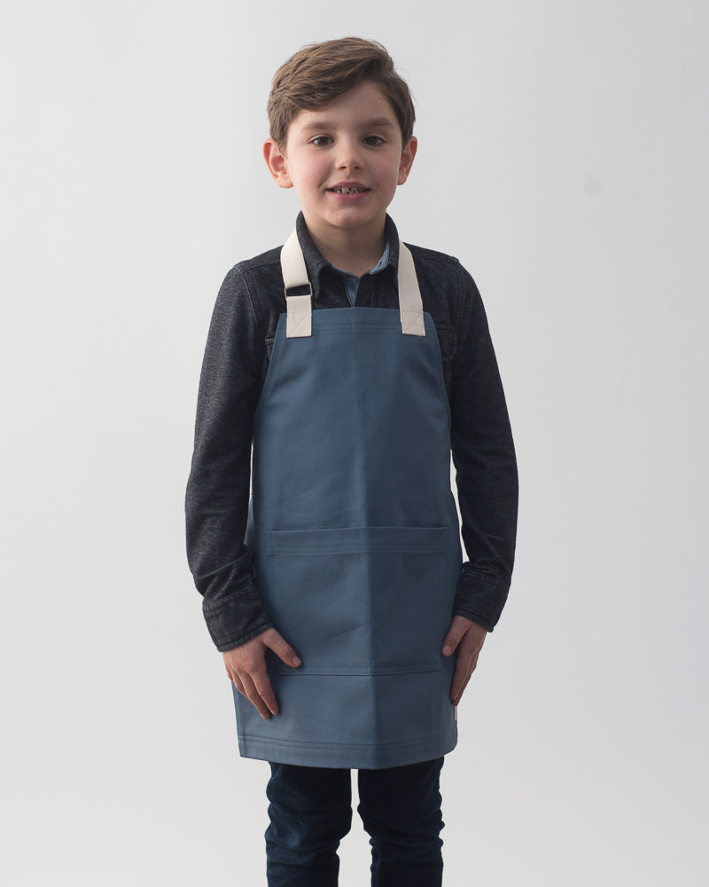 Everyday Mini Apron // Slate