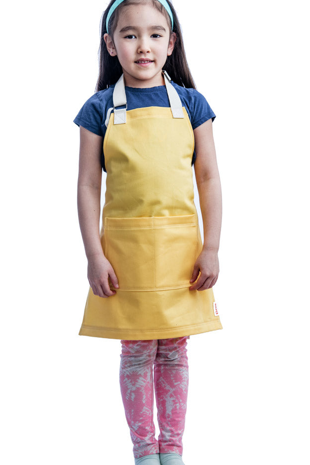 Everyday Mini Apron // Lemon