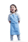 Everyday Mini Apron // Light Blue