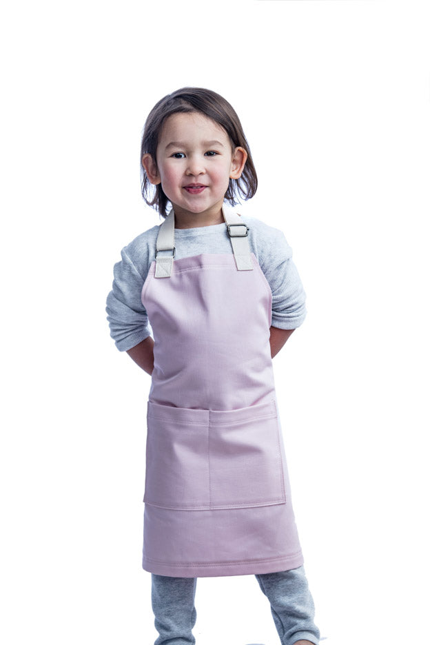 Everyday Mini Apron // Light Pink