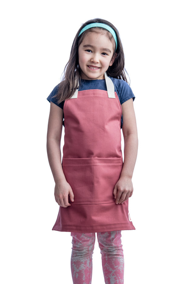 Everyday Mini Apron // Nautical Red