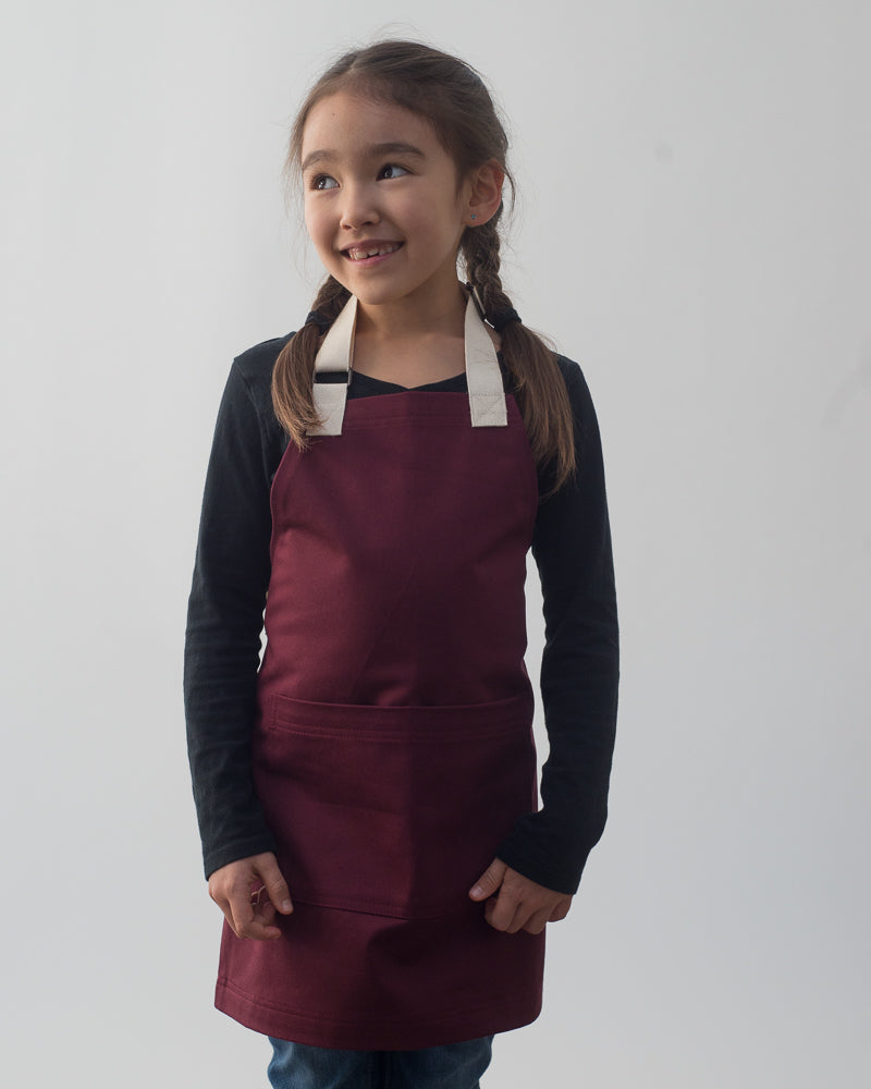 Everyday Mini Apron // Wine