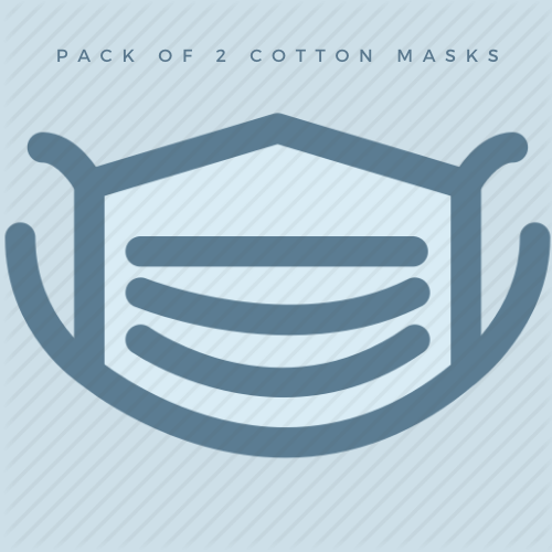 Cotton Masks - pack of 2