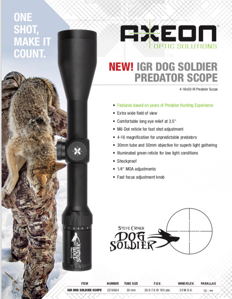 Axeon Dog Soldier Predator Scope