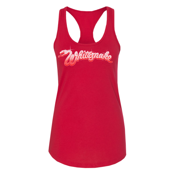 Red Logo Ladies Tank