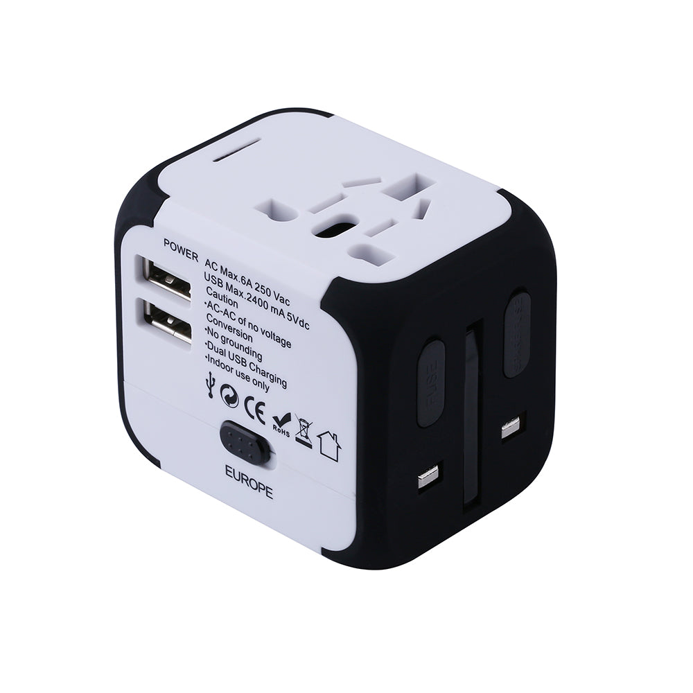 World Travel Ac Power Charger Adaptor Geekyshops
