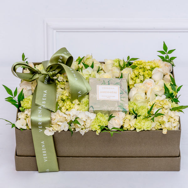CANDLE FLOWER BOX