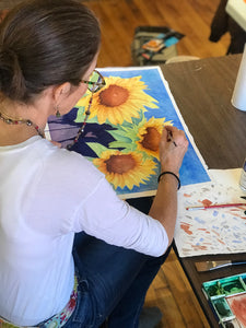 Four Art Classes Gift Certificate