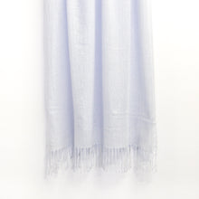 Load image into Gallery viewer, BASAL LIGHT BLUE CASHMERE SCARF