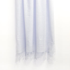 BASAL LIGHT BLUE CASHMERE SCARF
