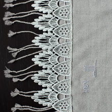 Load image into Gallery viewer, FESTIVITY FEATHER WOOL SCARF 2