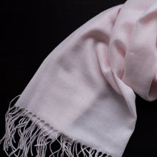 Load image into Gallery viewer, BASAL LIGHT PINK CASHMERE SCARF 2