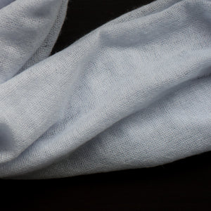 BASAL LIGHT BLUE CASHMERE SCARF 3